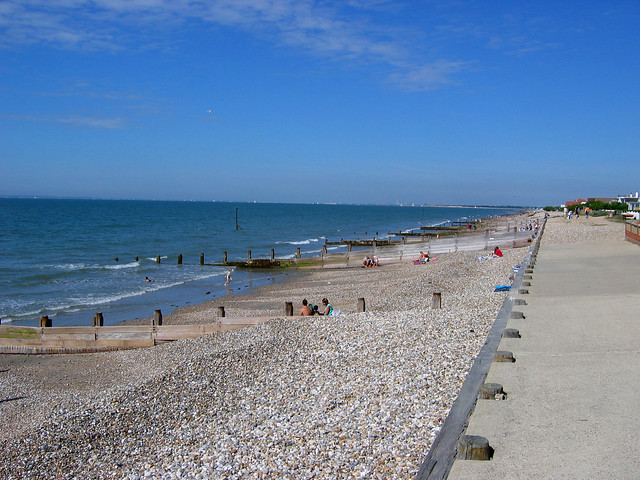The beach at East Wittering