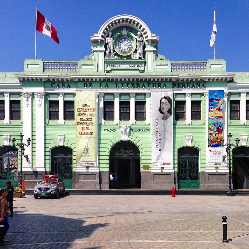 Antigua Estación Desamparados - Lima, Perú