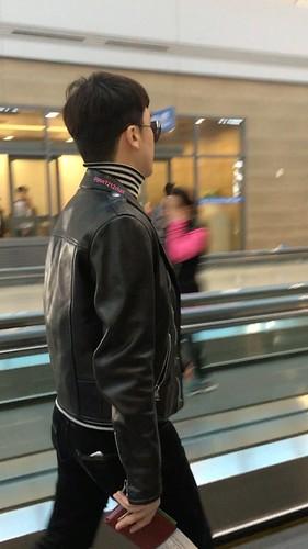 BIGBANG departure Seoul to Fukuoka 2016-12-09 (6)