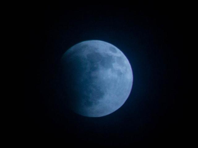 Penumbral eclipse: