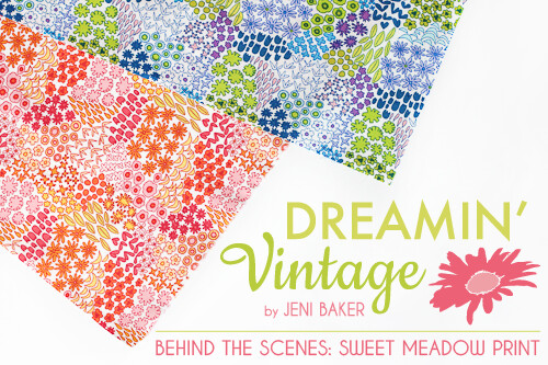 Behind the Scenes: Sweet Meadow Print