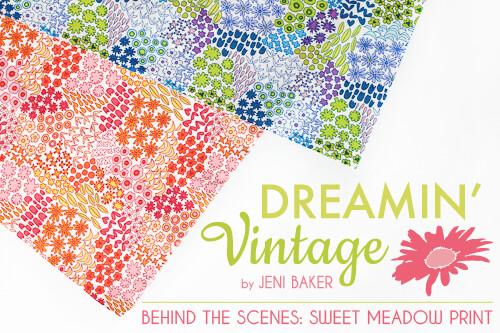 Behind the Scenes: Sweet Meadow Print