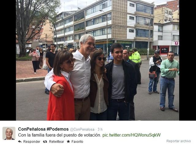 Foto Peñalosa y Familia
