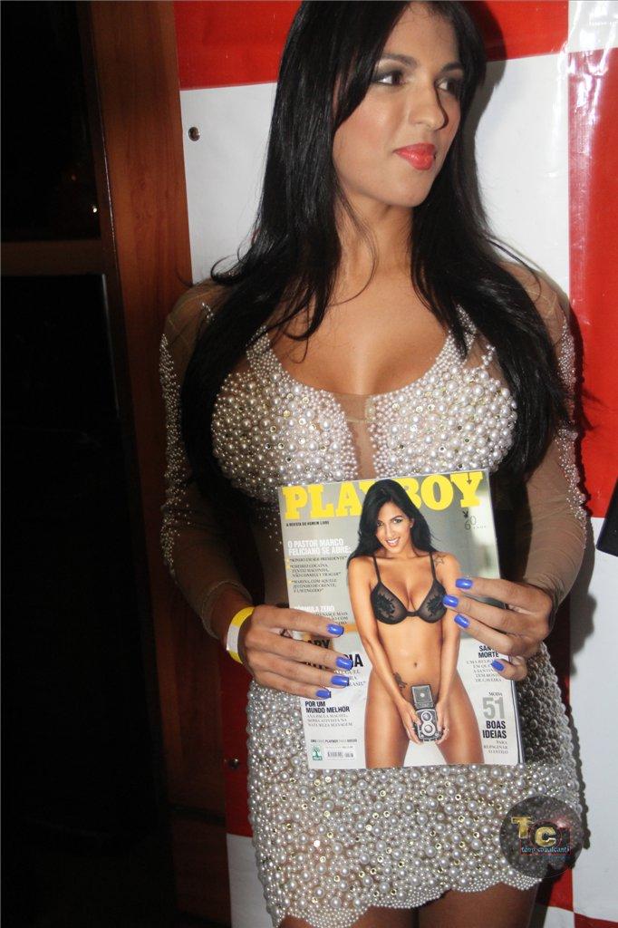Festa da Playboy Gaby Fontenelle