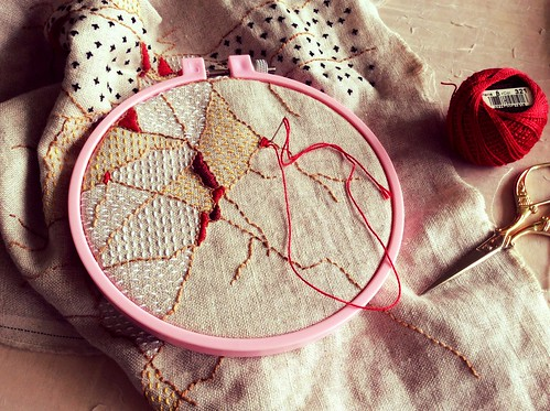 Stitching in Progress
