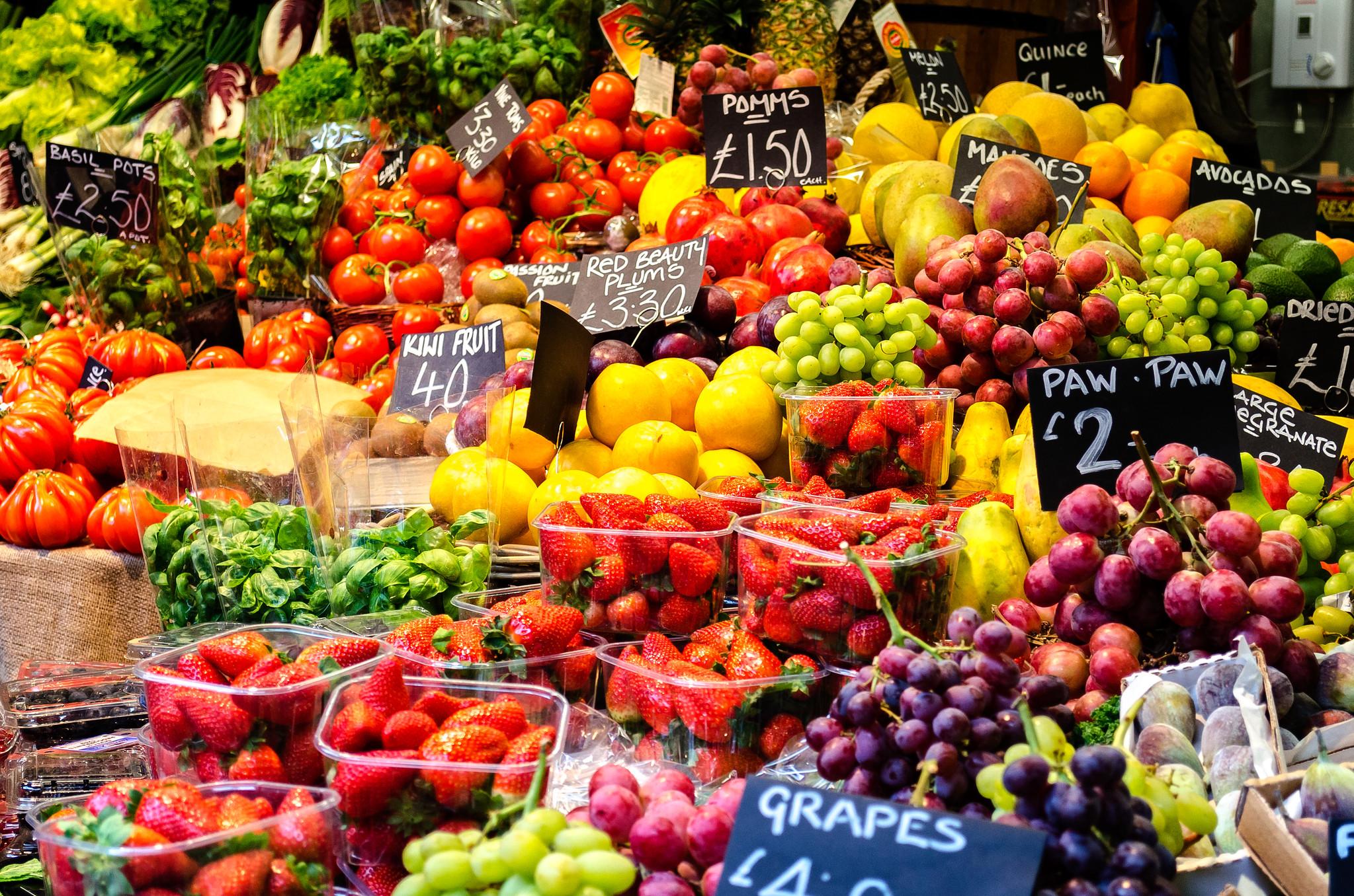 Healthy London Food App