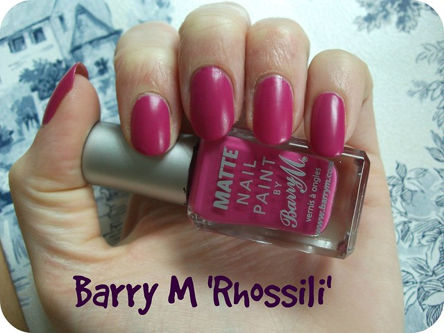 NOTD Barry M Matte NP Rhossili