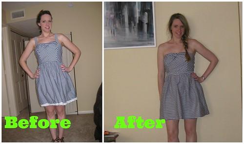 bow dress refashion