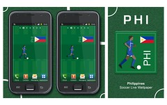 Philippines Soccer Graphic
