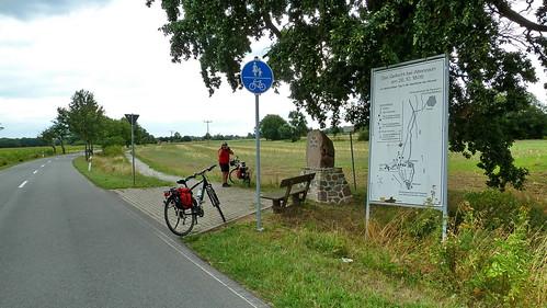 20130812 Sachsen Anhalt Altenzaun Gedenkstätte Tangermünde nach Havelberg Elbe Radweg (62)