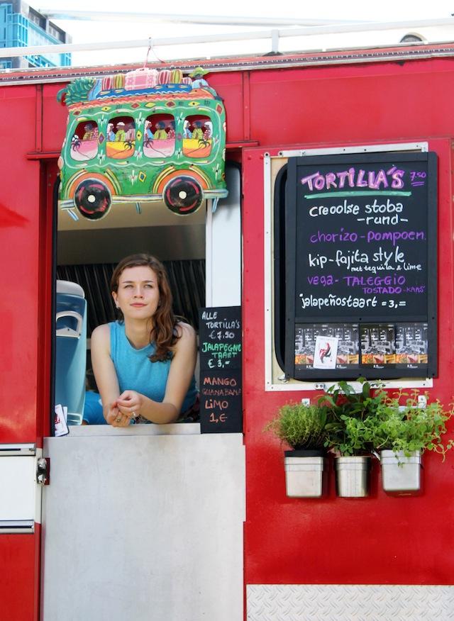Rollende Keukens 2014 Amsterdam tortilla truck