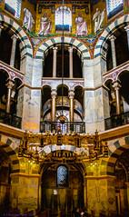 Hohe Domkirche zu Aachen, Impressionen aus dem karolingischem Oktogon --- High Cathedral of Aachen, Impressions from the Carolingian octagon
