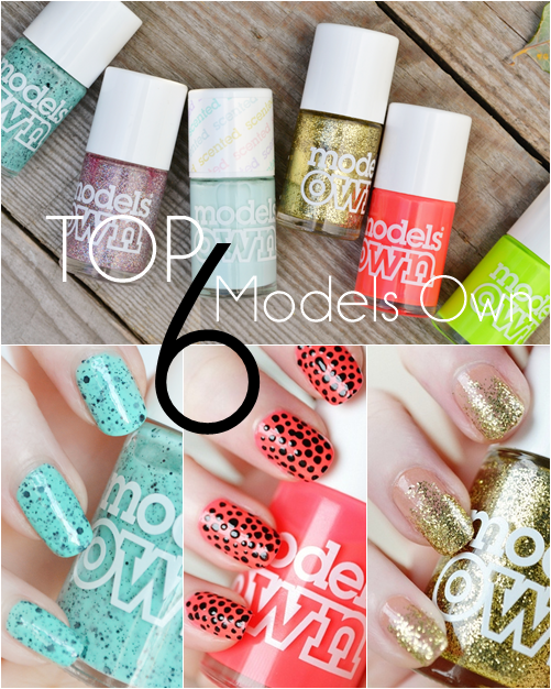 Top_6_Models_Own_nail_polishes