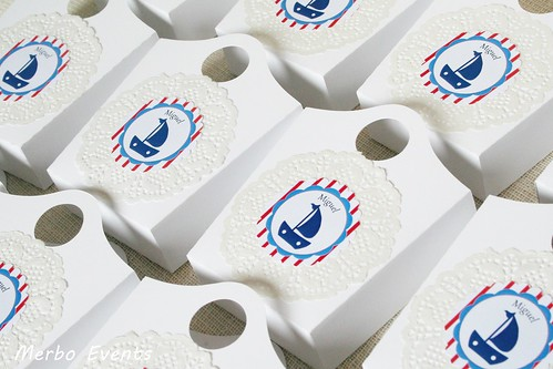 Packaging detalles comunión marinera Merbo Events