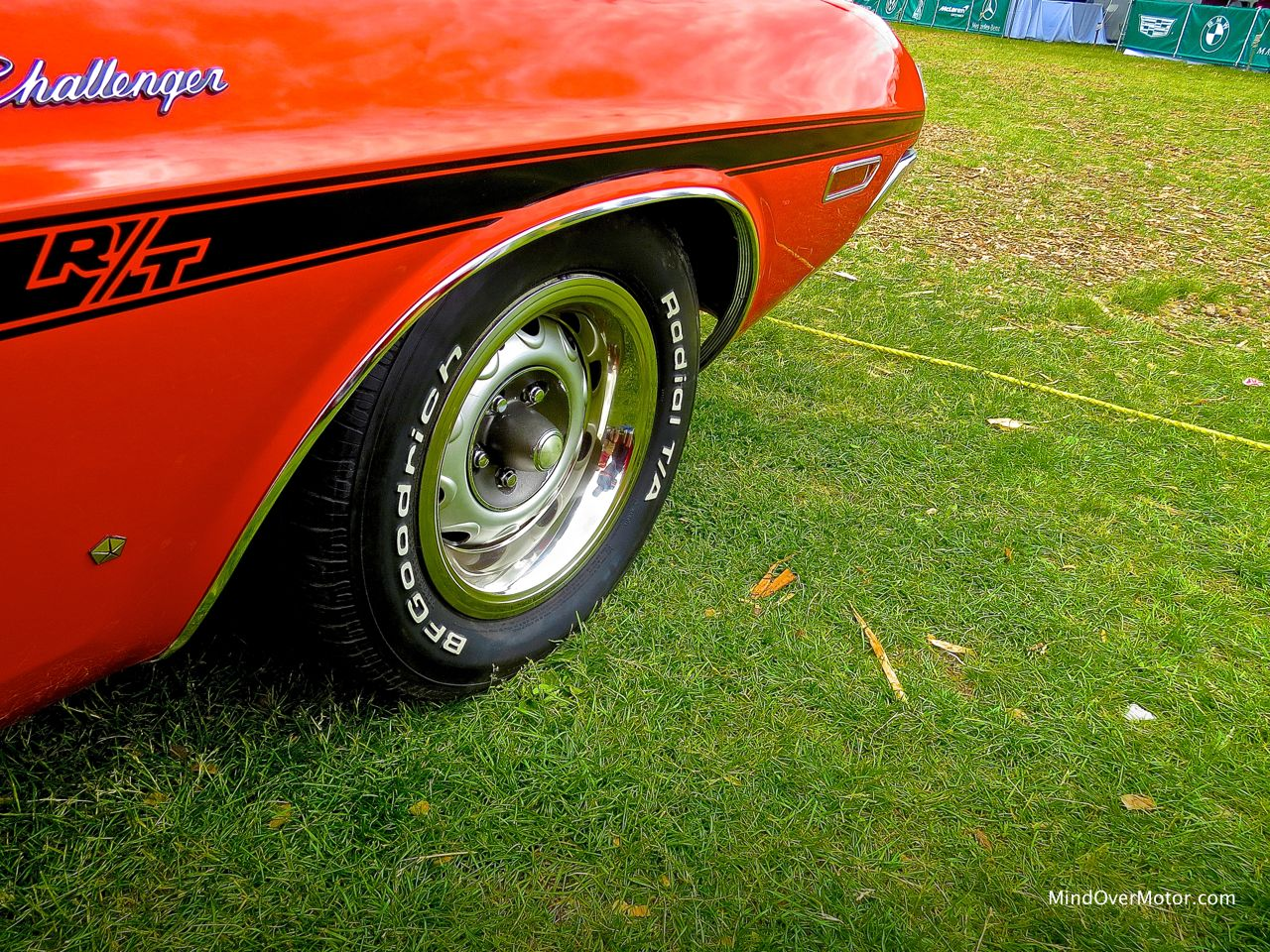 1970 Dodge Challenger R:T Convertible Wheel