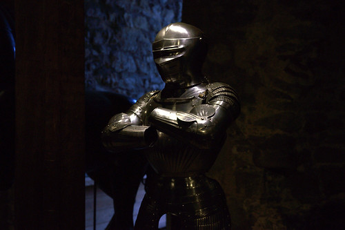 Armour in the tower