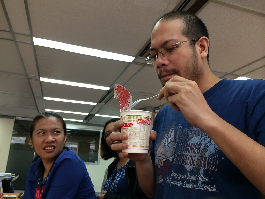 Pudding Ramen: A Taste Test