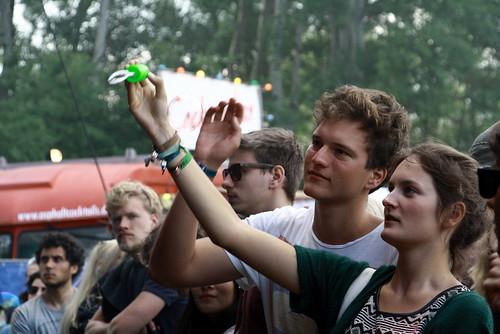 Festivalgelände, Publikum