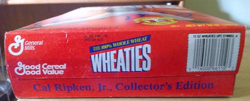 Cal Ripken Wheaties Box