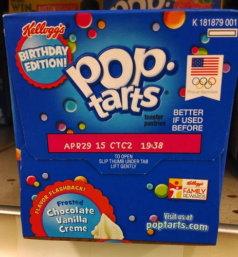 Pop Tarts 50th Anniversary Box