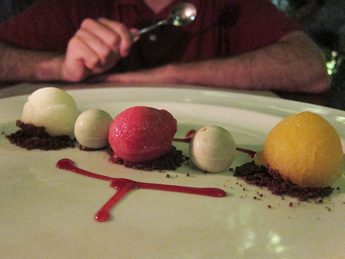 sorbet and chocolates @ Vincent's