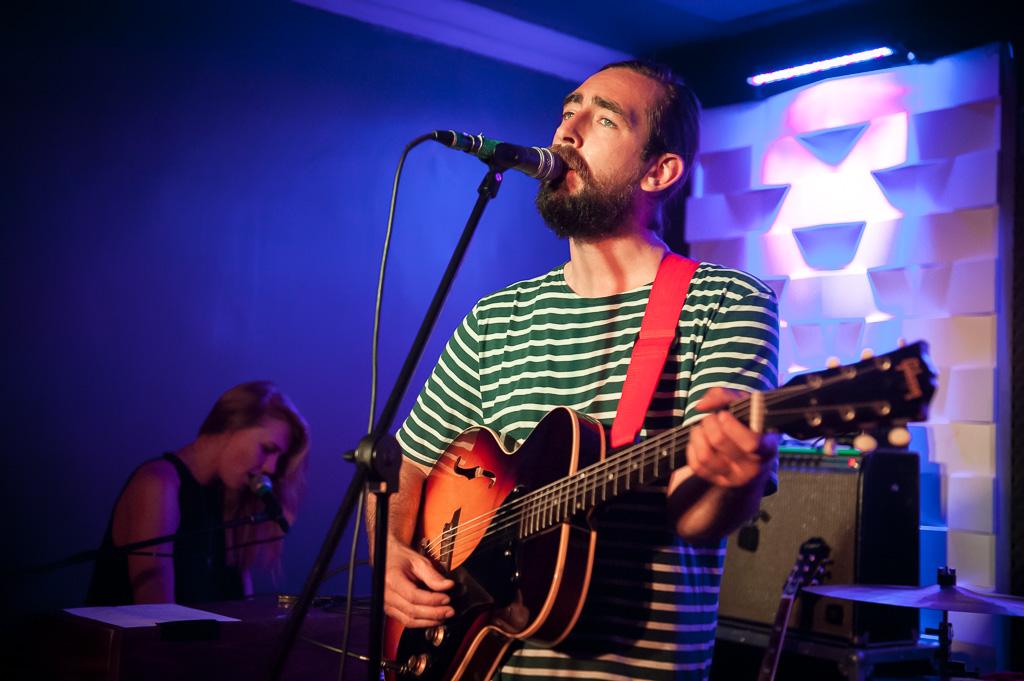 Slow Club @ Portland Arms, Cambridge 16/07/14