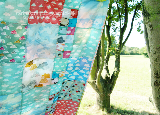 Back of the Cloud Quilt