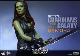 Hot Toys – MMS257 – 星際異攻隊【葛摩菈】1/6 比例 Guardians of the Galaxy Gamora