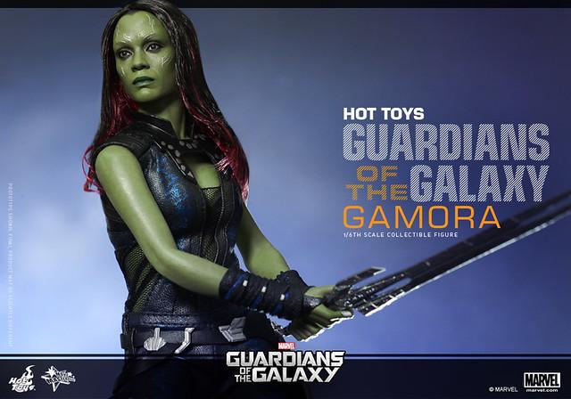 Hot Toys – MMS257 – 星際異攻隊【葛摩菈】1/6 比例 Guardians of the Galaxy Gamora