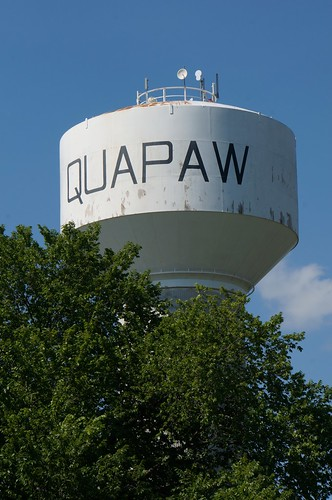 Water Tower - Quapaw, Oklahoma