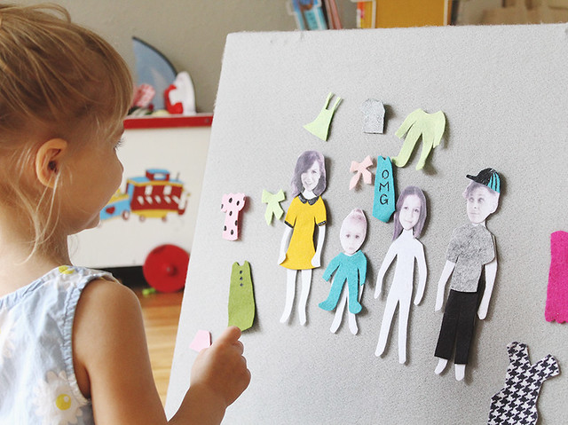 DIY Felt Doll Family