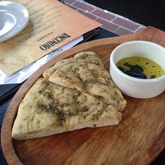 Focaccia at Incendio, Gaslight, Vancouver