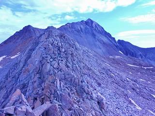 Wilson Peak from Gladstone Peak North Ridge