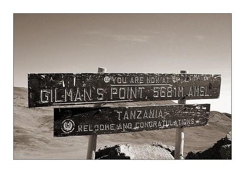 gilman's point, 5681m