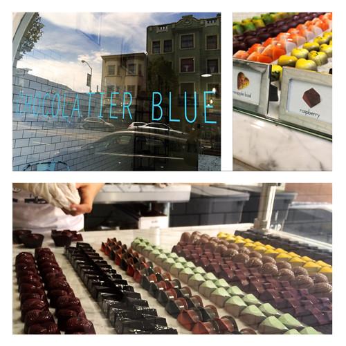 Chocolatier Blue