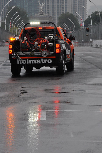 Holmatro reflections - wet track in Toronto