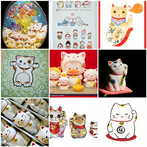 Friday Funspiration: maneki neko