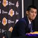 Jeremy Lin Lakers Press Conference...