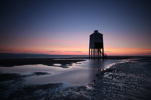 longexposure sunset lighthouse beach silhouette landscape puddle lowlight warm bluehour vignetting summerevening burnhamonsea northsomerset beautifulcapture canon60d sigma1020mmf455 blinkagain thehighlighthouse longexposurejunkies aplaceforgreatphotographs
