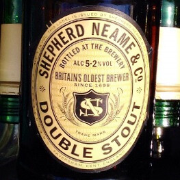 Shepherd Neame Double Stout. Delicious!