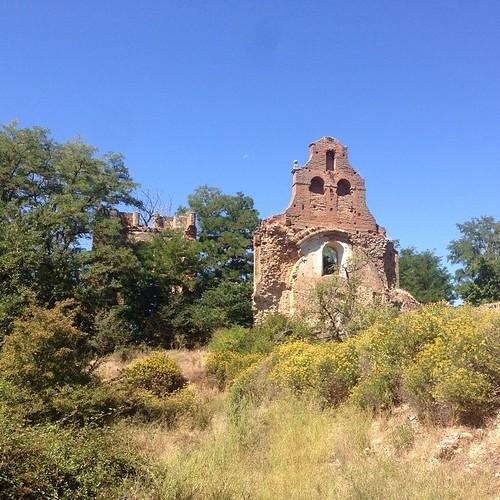 Ruinas del que en su día fue el 2º monasterio cisterciense más importante de España.