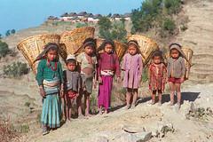 Nepali Mountain Children