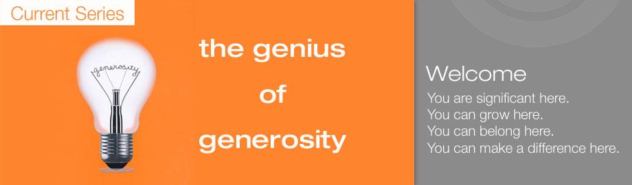 Genius homepage