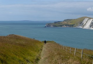 26 Descending to Worbarrow Bay