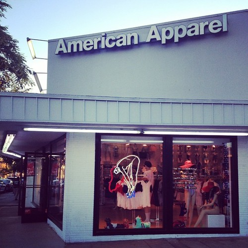 Because nothing is more empowering than giving money to a business that respects my humanity! #americanapparel