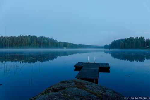 summer lake finland jetty tampere midnightsun pirkanmaa canon6d