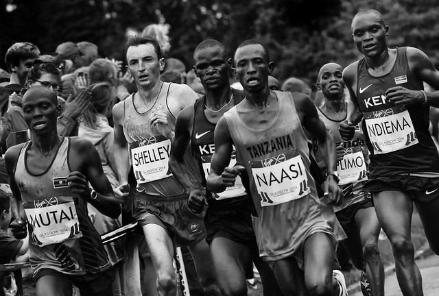 Glasgow Commonwealth Games 2014 Marathon
