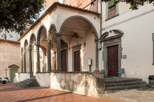 italy architecture italia tuscany toscana toscane renaissance italie renacimiento fucecchio architecturereligieuse provinciadifirenze abbaziadisansalvatore
