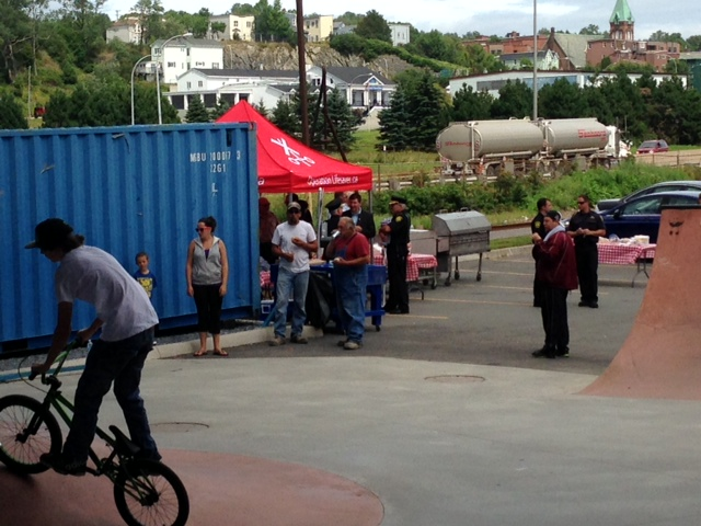 Another Pic From the Saint John Skate Park Event!
