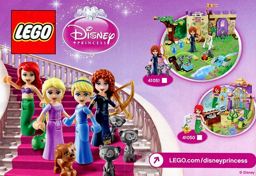 LEGO Disney Princess 41050 Ariel's Amazing Treasures 06